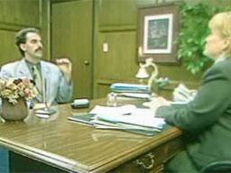 Borat na rozmowie kwalifikacyjnej
