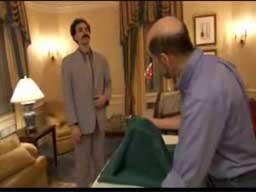 Borat - kłótnia z producentem