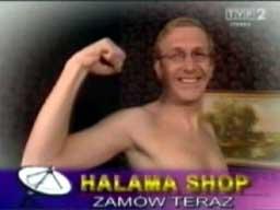 """Grzegorz Halama - TV Shop - Kij """"Kej Pej"""""""