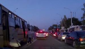 Przystanek autobusowy gdzieś w Rosji