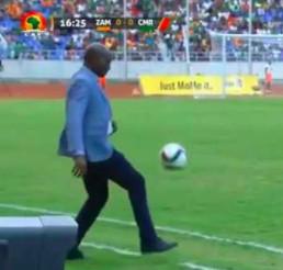 Trener Zambii chciał się popisać, a wyszło jak zwykle