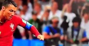 Że co on niby zrobił?! Kobieta komentuje wyczyn Cristiano Ronaldo