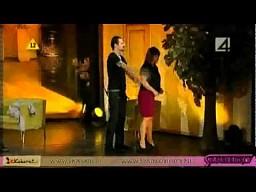 Romantyczna scena w Spadkobiercach