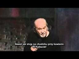 George Carlin - Strach przed zarazkami