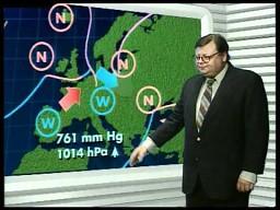 Prognoza pogody w wykonaniu Wojciecha Manna