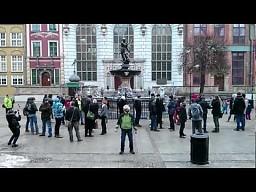 Neptun Harlem Shake - bojownicy z Gdańska