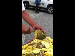 Jak obra� ananasa?