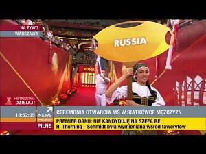 Reprezentacja Rosji wygwizdana podczas ceremonii otwarcia