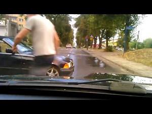 Nie ca�kiem udany drifting w BMW