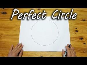 Jak narysować idealne koło bez użycia cyrkla?