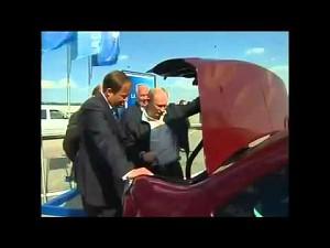 Putin testuje cudo rosyjskiej techniki