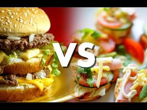Jedzenie organiczne prosto z McDonald's