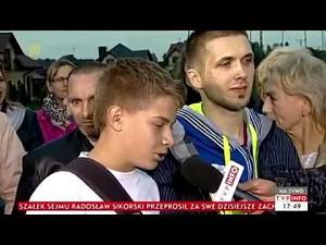 Młody brawurowo włącza się do dyskusji na żywo w TVP