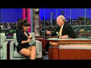 Eva Longoria u Davida Lettermana