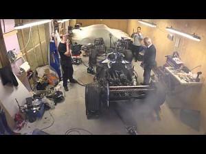 Silnik bolidu F1 uruchomiony po 12 latach