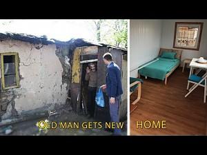 Nowy dom dla starszego człowieka
