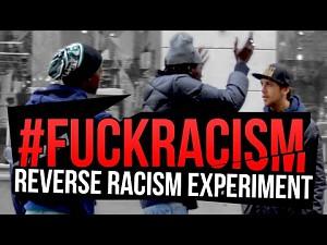 Szokujący rasistowski eksperyment socjologiczny - tylko czarny białego może głębić