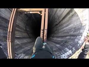 Ekstremalna wspinaczka na wysoki komin