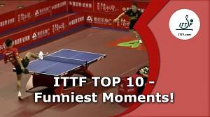 10 zabawniejszych momentów w ping-pongu