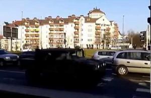 Przyjazd amerykańskich wojsk do Lublina