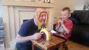 Gra ojca z synem