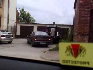 Piekielnie trudny manewr wyjazdu z parkingu