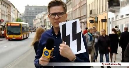 Chajzer pyta Polaków o symbol SS. Odpowiedzi są straszne