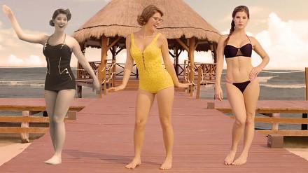 Ewolucja bikini