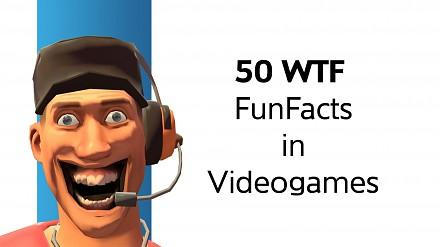 50 zabawnych faktów z gier, o których pewnie nie wiedziałeś!