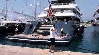 Jacht Kulczyka na Lazurowym Wybrzeżu