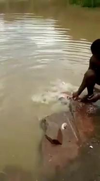 Nietypowy sposób na łowienie ryb