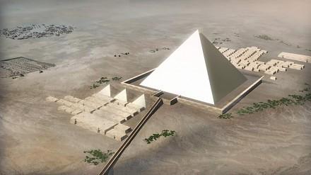 Ciekawa teoria o tym jak zostały zbudowane piramidy