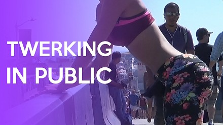 Publiczny twerking