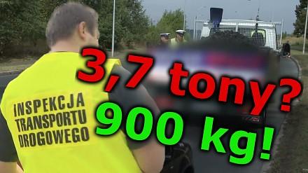 3,7 tony węgla? Ładowność to 900 kilogramów! - Na drogach