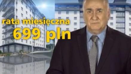 'A mogłeś kupić mieszkanie' - reklamowy paździerz od dewelopera z Krakowa