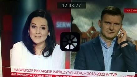 Niezręczne pytanie o Jacka Kurskiego w TVP