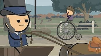The Penny Farthing | Cyanide and Happiness