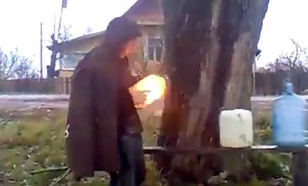 Czelabińskie zabawy na podwórku