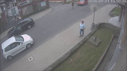 Próba przejechania kierowcy - Lubań