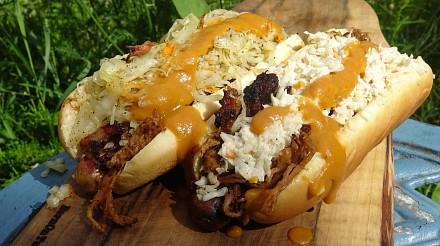 Hot Dogi z Południowej Karoliny - KuchniaKwasiora