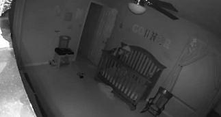 Nagranie z elektronicznej niani - czy to dziecko demona?