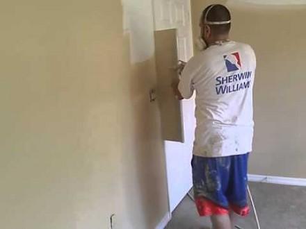 Błyskawiczne malowanie pokoju w 8 minut i 45 sekund