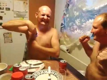 Rosyjska impreza i zabawa paralizatorem