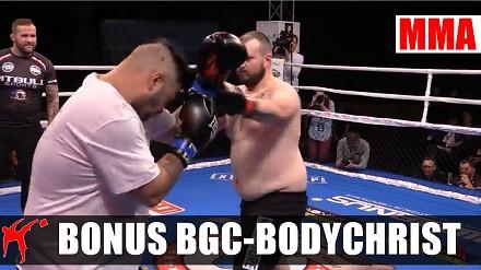 Walka stulecia w Poznaniu - Bonus Urodzony by walczyć BGC vs Bodychrist