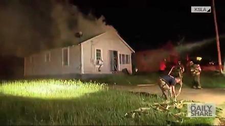Pogromca strażaków, czyli ciąg wsteczny (backdraft) uchwycony na kamerze