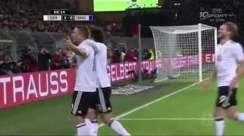Łukasz Podolski w pięknym stylu pożegnał się z reprezentacją Niemiec
