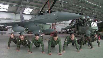 Polish Air Force Academy - 22 Pushup Challange