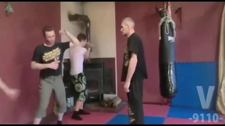 Rosyjska szkoła walki - mistrz naucza uczniów