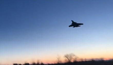 Wyjątkowo niski lot Su-37 doprowadza do katastrofy