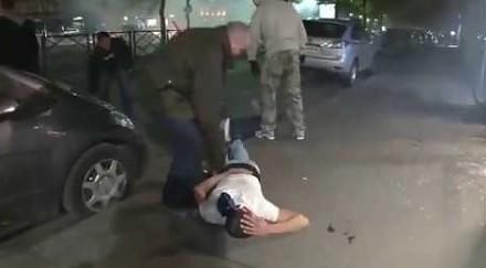 Francuska policja po cywilu vs. złodzieje